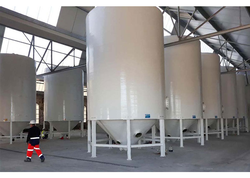 Truncated Conical Clarifiers | Thickeners | Silos