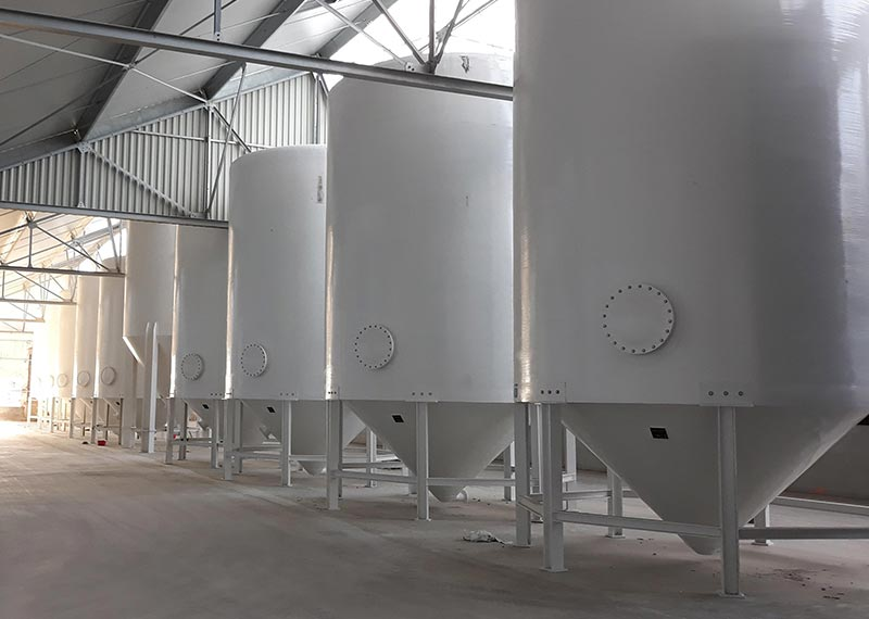 Truncated Conical Clarifiers
